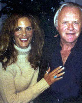 Anthony Hopkins and Sharyn Wynters