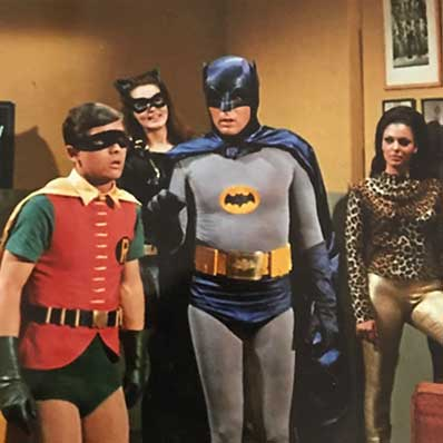 Batman TV picture in the shop