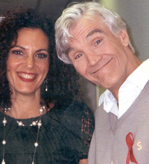 David Canary and Sharyn Wynters