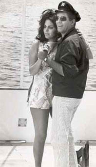 Jerry Lewis and Sharyn Wynters