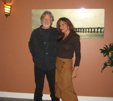 Kris Kristofferson and Sharyn Wynters