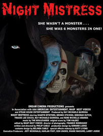 Night Mistress - with Sharyn Wynters - movie poster